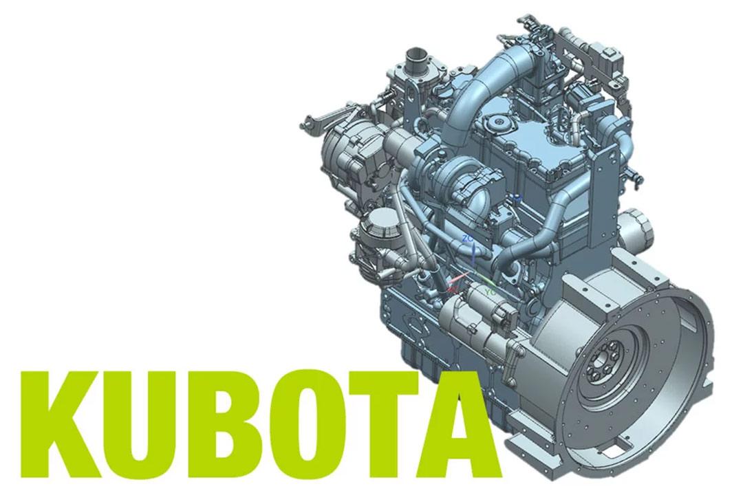 מנוע דיזל מלגזת קלארק C80D